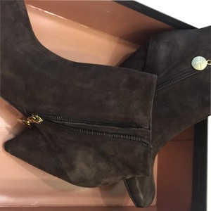 Vince Camuto Brown Suede Mules