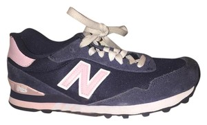 New Balance Navy and pink Athletic