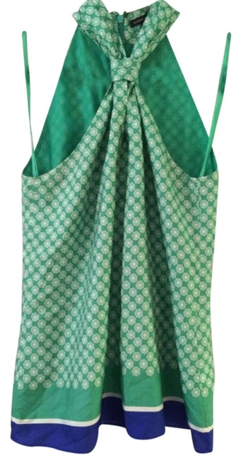 Item - Green Halter Top Size 6 (S)