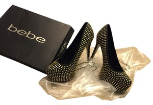 bebe Black / gold Pumps