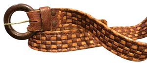 Genuine Leather Handmade In Mexico Braided Belt