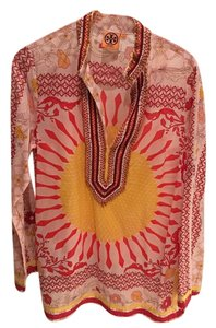 Tory Burch Giverny Tunic Blouse
