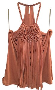 Poof! Apparel Camel Halter Top