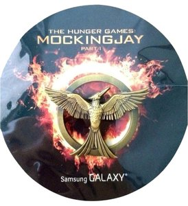 Hunger Games Mockingjay Part 1 Movie Promotional Pin Comic Con SDCC