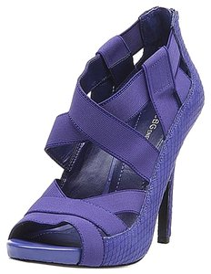 BCBGeneration Bcbg Womens Heels Sz 8 purple Platforms