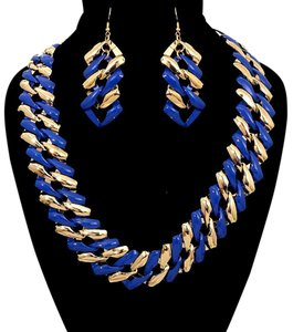 Other Chain Statement Necklace Set