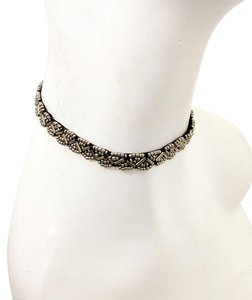 Metallic Beaded Choker