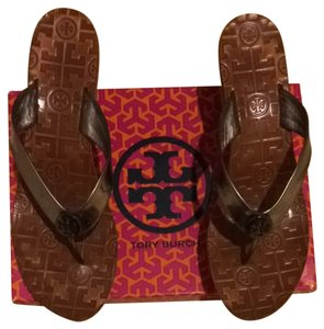 Tory Burch Pewter Platforms