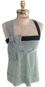 Marc by Marc Jacobs Silk Top Mint & Black