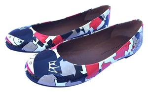 Marc Jacobs Print Multi Flats