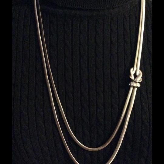 Other Gorgeous silver Long Necklace with Detail