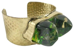 Other Druzy Lucite Brutalist Statement Cuff