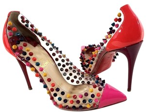 Christian Louboutin Colored Spikes Multi-color Pumps