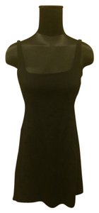 Prada short dress Black on Tradesy