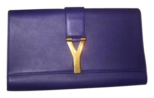 Saint Laurent Royal blue Clutch
