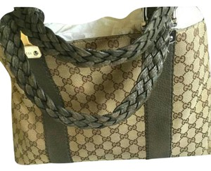 Gucci Tote in Beige & brown