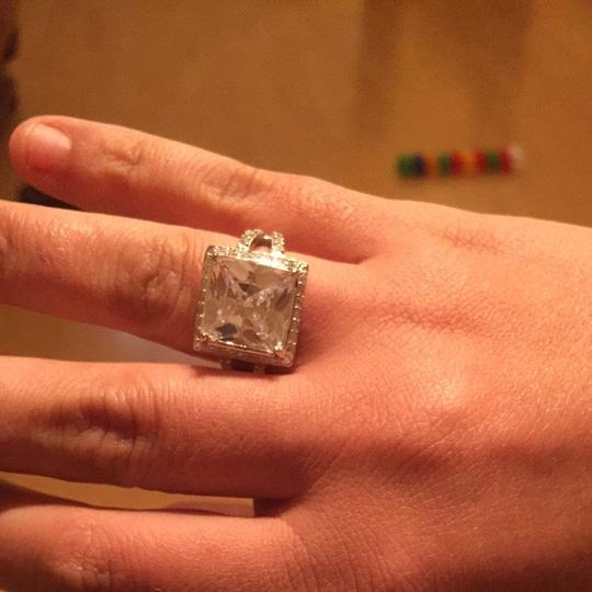 Other White Topaz Sterling Silver Ring