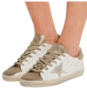 Golden Goose Deluxe Brand Gold Athletic