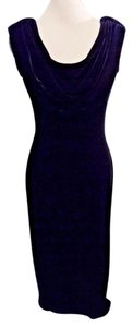 Alex Evenings Sleeveless Velvet Formal Long Sheath Dress