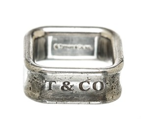 Tiffany & Co. Tiffany & Co. Sterling Silver Square Ring (Size 4.5)