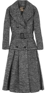 Burberry Wool Fall Winter Tweed Pea Coat