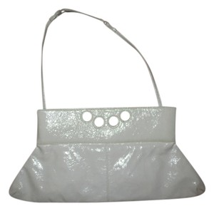 Latico Leather white Clutch