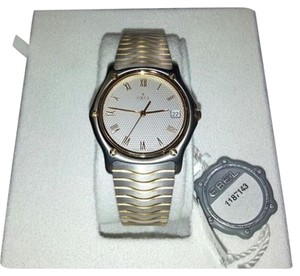 Ebel Ebel Gents Brand New Sport Classic Wristwatch 18 Karat Rose Gold And Stainless Steel