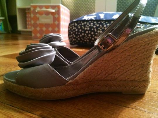 J.Crew Gray Wedges