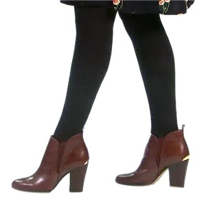 Michael Kors Bootie Leather Brown Boots