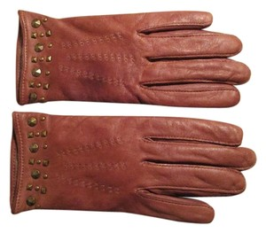Banana Republic studded leather gloves