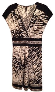 BCBGMAXAZRIA short dress Black and white on Tradesy