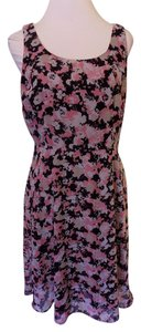 Liz Claiborne short dress Pink, Black and White Knee Length Sleeveless Stretchy on Tradesy