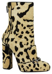 Gucci Women's Leopard Print Multi-Color Boots