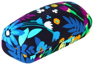 Vera Bradley NEW VERA BRADLEY MIDNIGHT BLUES LARGE CLAMSHELL GLASSES CASE