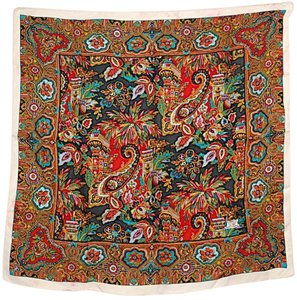 Liberty of London LIBERTY OF LONDON VINTAGE Collectible Silk Floral/Paisley Square