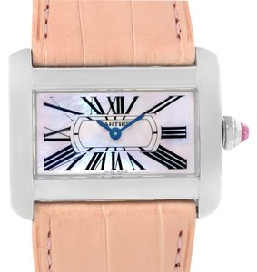 Cartier Cartier Tank Divan Large Stainless Steel Watch W6301455