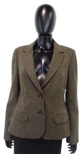 Trina Turk Smoking Brown Jacket
