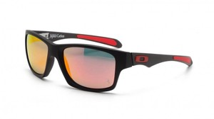 Oakley Oakley OO9220-06 Carbon/Ruby Color Lens Sunglasses