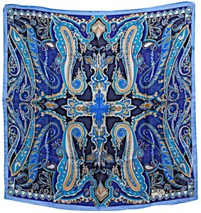 Liberty of London LIBERTY OF LONDON VINTAGE Collectible Silk PAISLEY Square
