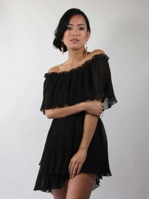 Alfred Werber short dress Black on Tradesy