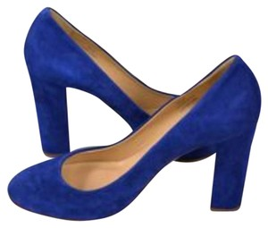 J.Crew Blue Pumps