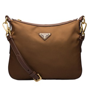Prada Messenger Messenger Gold Hardware Cross Body Bag