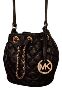 Michael Kors Quilted Leather Frankie Cross Body Bag