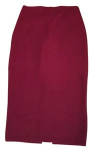 H&M Skirt Red/burgundy
