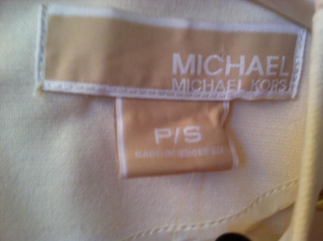 Michael Kors Top Cream Gold