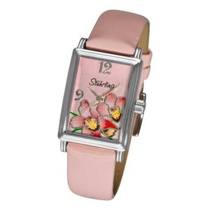 Stührling Stuhrling Original Women 306A.1115A4 Botanica Swiss Quartz Pink watch