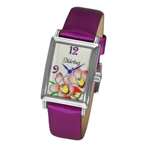 Stührling Stuhrling OriginalWomen 306A.1115Q2 Botanica Swiss Quartz Purple watch