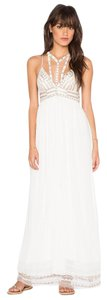 Free People Maxi Gown Embroidery Dress