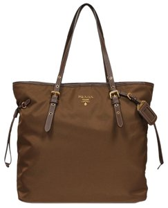 Prada Shoulder Tote in Brown