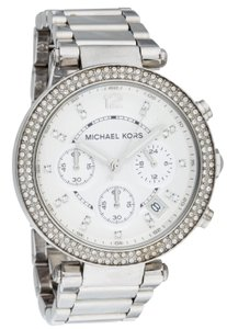 Michael Kors Ladies' stainless steel 39mm Michael Kors Chronograph quartz